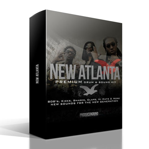 "The ""New Atlanta"" Premium Drum Kit - Producergrind"