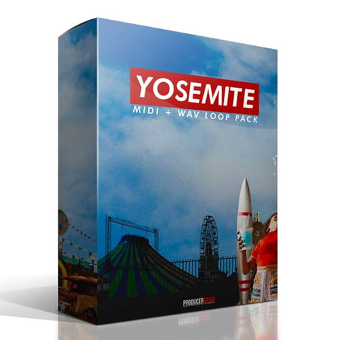 "The ""Yosemite"" MIDI + WAV Loop Pack - Producergrind"