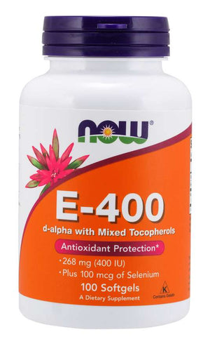 NOW E-400 100 Softgels