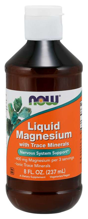NOW Liquid Magnesium 8 FL. OZ.