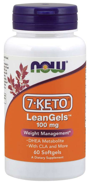 NOW 7-Keto LeanGels 100mg 60 Softgels
