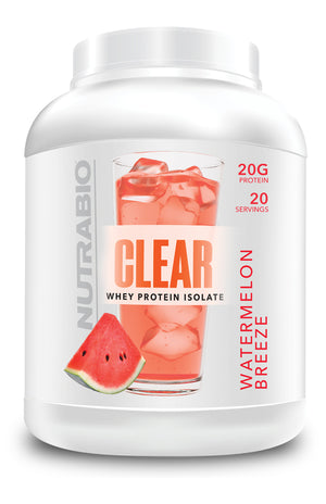 NUTRABIO Clear Whey Protein Isolate 20 Servings