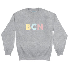 Load image into Gallery viewer, Barcelona (BCN) Airport Code Crewneck