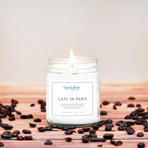 Cafe in Paris Candle