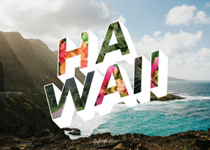 Medium, 252-piece puzzle measures 14 inches by 10 inches and has a glossy finish. It comes in a black box with a 5 x 7 print of the image on top of the box of Hawaii.