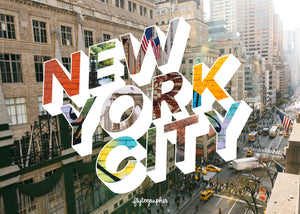 Medium, 252-piece puzzle measures 14 inches by 10 inches and has a glossy finish. It comes in a black box with a 5 x 7 print of the image on top of the box of New York City.