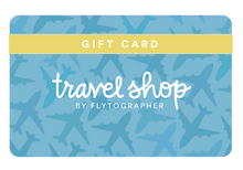 Load image into Gallery viewer, Flytographer Travel Shop Gift Card