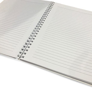 This 6.50x8.75 inch, spiral bound notebook is perfect for jotting thoughts and sketching ideas.