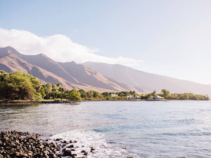 Maui | Olowalu Mountains Print