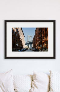 New York City | Manhattan Bridge Print