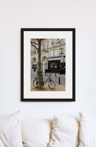 Paris | Bicycle Print