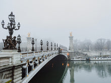 Load image into Gallery viewer, Paris | Morning Fog Print