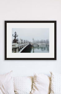 Paris | Morning Fog Print