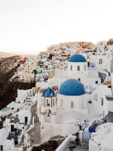 Load image into Gallery viewer, Santorini | Blue Domes Print