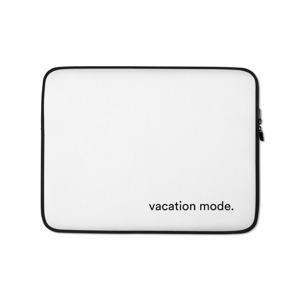 Vacation Mode Laptop Case