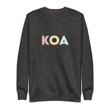 Load image into Gallery viewer, Kona (KOA) Airport Code Crewneck
