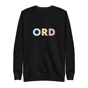 Chicago (ORD) Airport Code Crewneck