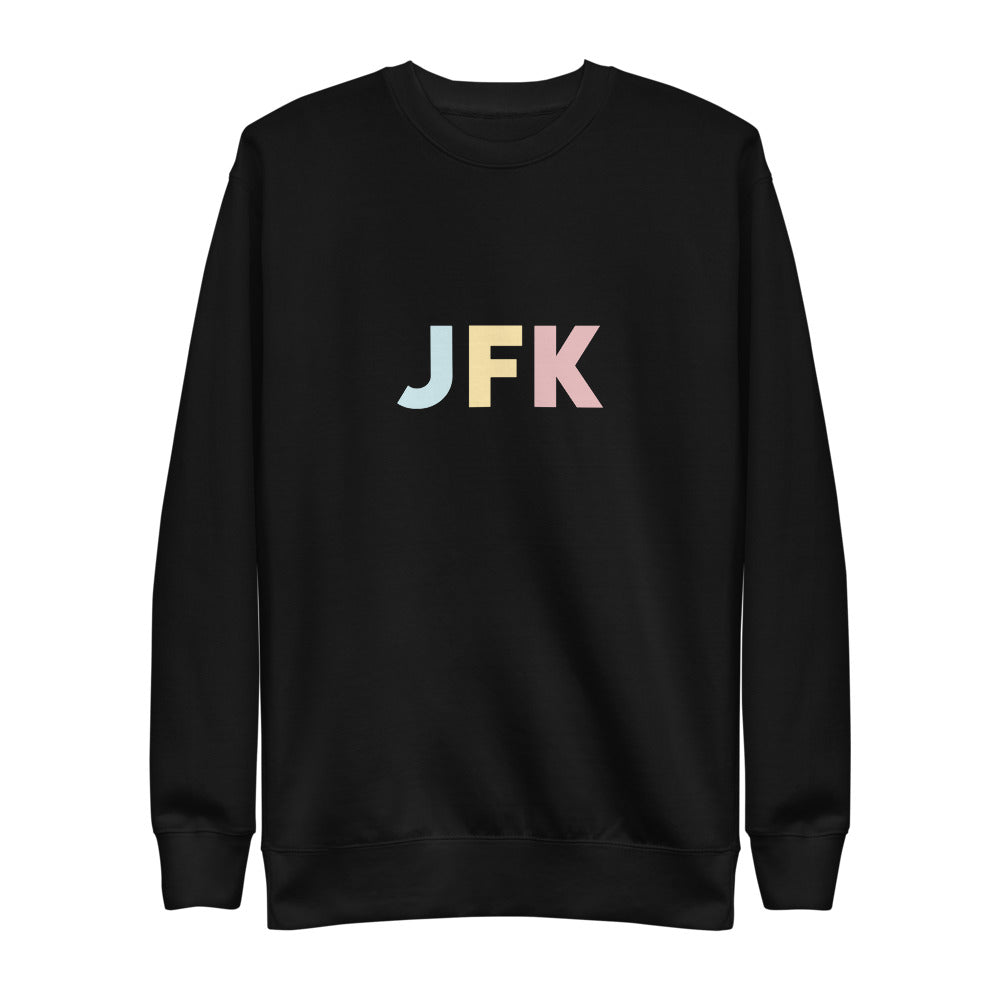 NYC (JFK) Airport Code Crewneck