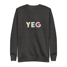 Load image into Gallery viewer, Edmonton (YEG) Airport Code Crewneck