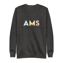 Load image into Gallery viewer, Amsterdam (AMS) Airport Code Crewneck