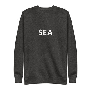 Seattle (SEA) Airport Code Crewneck - Frutiger