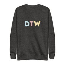 Load image into Gallery viewer, Detroit (DTW) Airport Code Crewneck