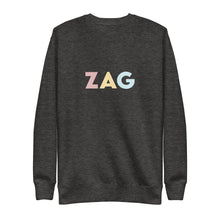 Load image into Gallery viewer, Zagreb (ZAG) Airport Code Crewneck