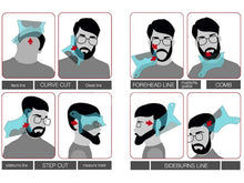 Load image into Gallery viewer, Beard Shaping Tool with Template Guide for Line Up - Bang4MyBuck