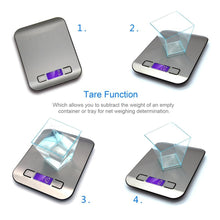 Load image into Gallery viewer, Digital Multi-function Stainless Steel Scale with LCD Display - Bang4MyBuck