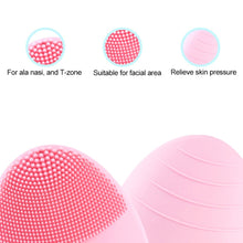 Load image into Gallery viewer, Face Cleaning Brush Mini Electric Massage Brush Washing Machine Waterproof Silicone Cleansing Tools - Bang4MyBuck