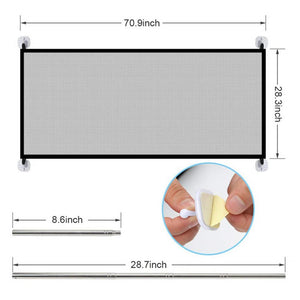 Portable Mesh Pet Barrier Fence - Bang4MyBuck