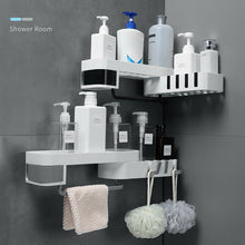 Load image into Gallery viewer, Corner Shower Shelf Organizer Wall Mounted - Bang4MyBuck