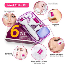 Load image into Gallery viewer, 6 in 1 Microneedle Derma Roller Kit - Bang4MyBuck