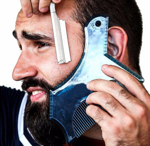 Beard Shaping Tool with Template Guide for Line Up - Bang4MyBuck