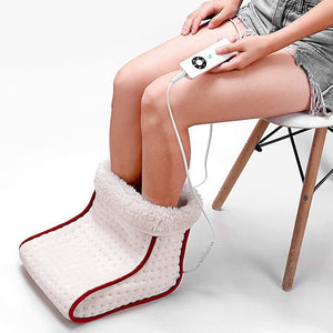 Electric Cosy Foot Warmer/Massager with 5 Modes Heat Settings - Bang4MyBuck