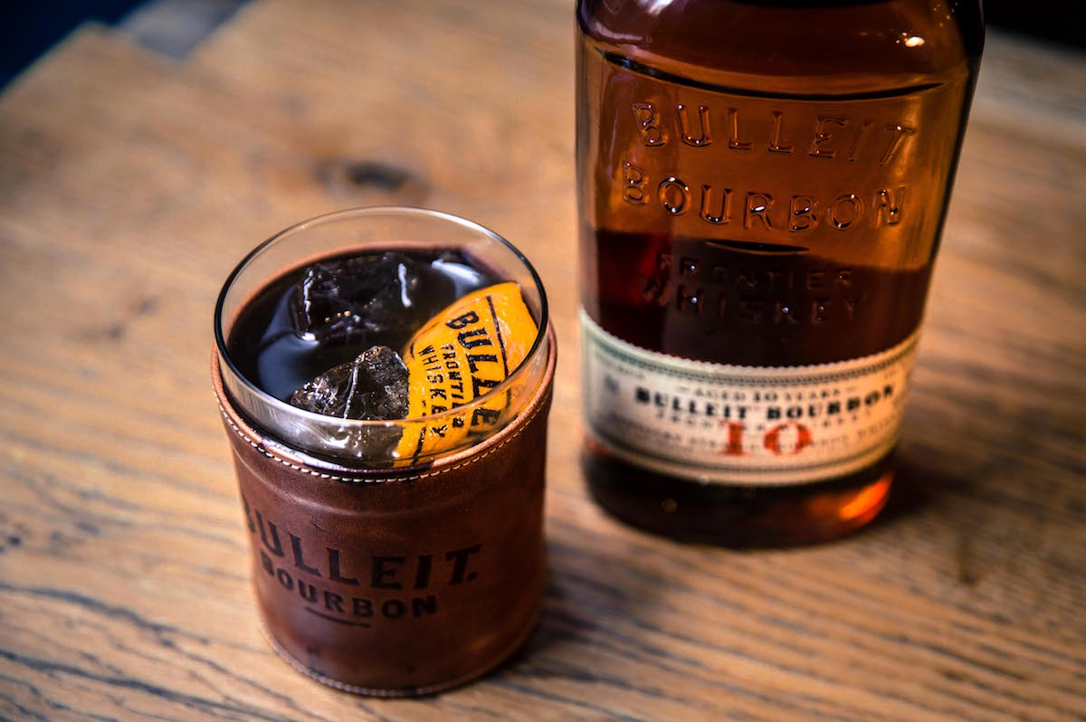 Bulleit Bourbon Bold Fashioned Cocktail