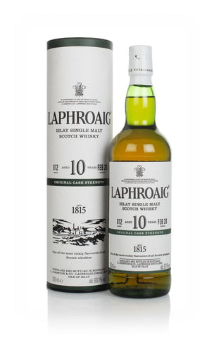 Laphroaig 10 Year Old Cask Strength - Batch 012 whisky