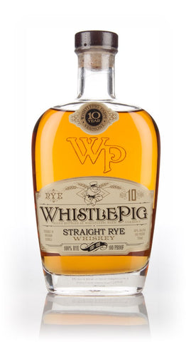 WhistlePig 10 Year Old whisky