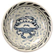 Blue Crab Condiment Dish