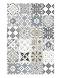 Ceramics Antique Vinyl Floor Mat 033394