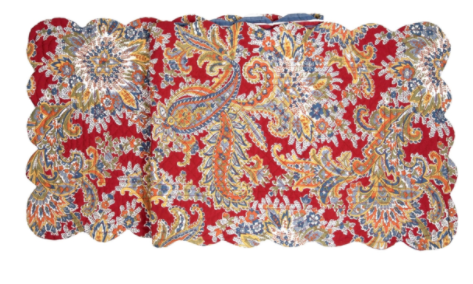 Rhapsody Paisley Table Runner