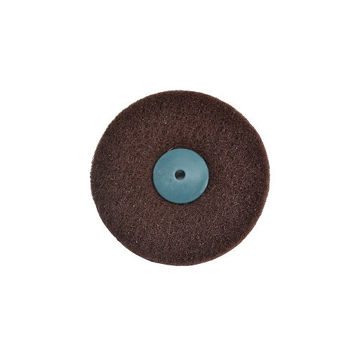2 ply satin finish wheel - 2 ply aluminum oxide wheel - 2 ply scratch finish wheel