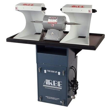 arbe sit down double spindle polishing system - MMD-948