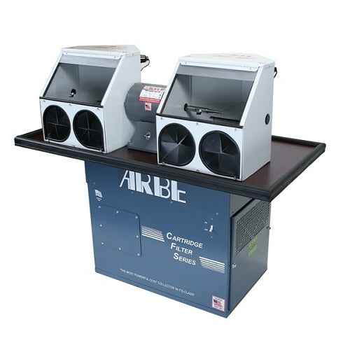 arbe sit down polishing system with cartridge filter - CFSD-920