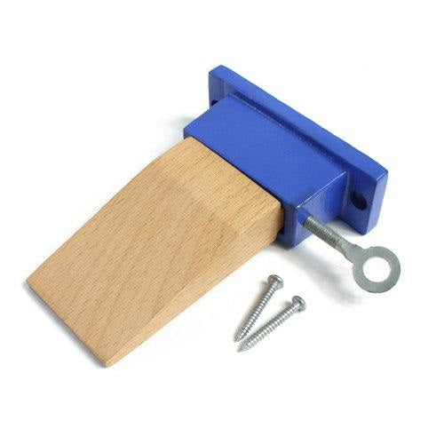 bench pin - bench pin with metal holder -  bench pin with metal plate