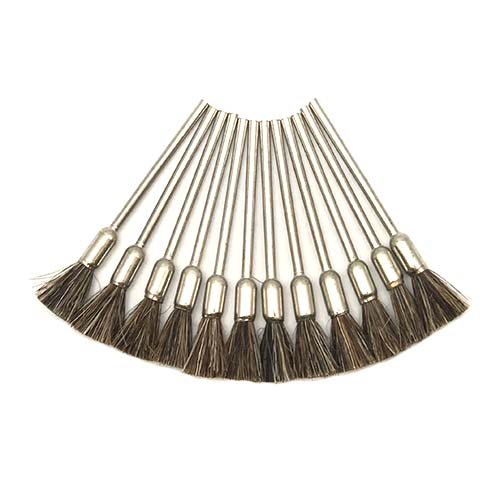 medium end brushes - jewelry polishing end brushes - jewellery polishing end brushes