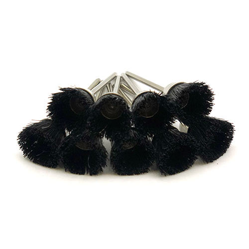 stiff large end brushes - jewelry polishing end brushes - jewellery polishing end brushes