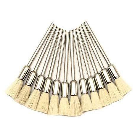 soft end brushes - jewelry polishing end brushes - jewellery polishing end brushes
