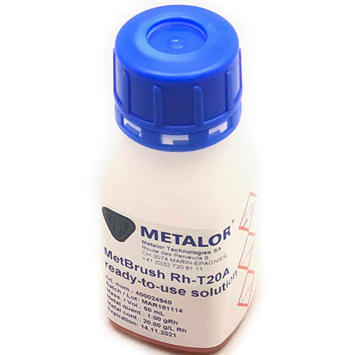 metalor pen plating solutions - metalor rhodium pen plating solution - metalor rhodium pen electroplating solution