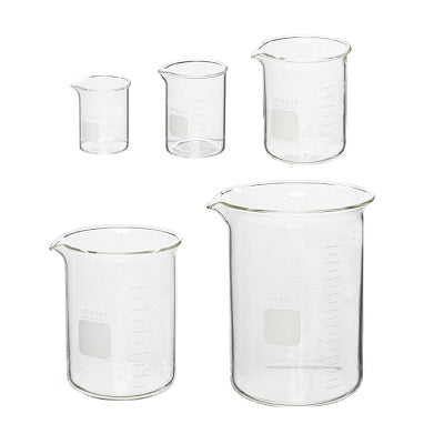 pyrex beakers - glass beakers